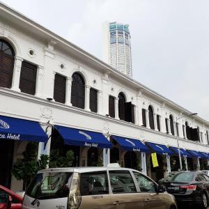 2019年8月マレーシア・ペナン旅行(その4)・ペナン国際空港からGrabでホテルへ移動。Areca Hotelへチェックイン
