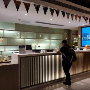 2019年11月中国・厦門旅行(その5)・Ibis Styles Xiamen Zhongshan Road Walking Street Hotelにチェックイン