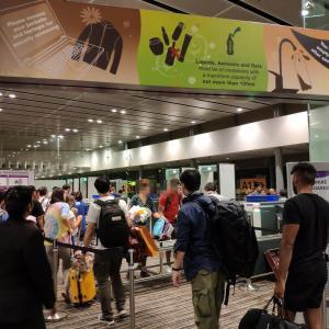 2019年年末年始タイ・バンコク旅行(その13)・SQ618(SIN-KIX)で帰国の途に。SQビジネスはやや期待外れ