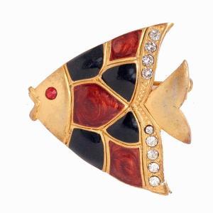 可愛いお魚ヴィンテージジュエリーブローチ3点アップいたしました。
