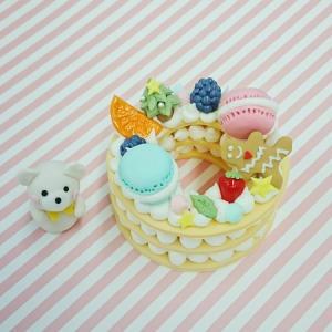 12月★カルチャースクール講座作品「ナンバーケーキ」作り