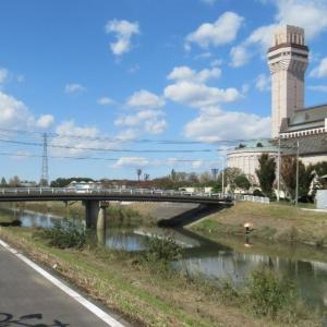 新方川緑道と元荒川緑道とがつながっていました(1)
