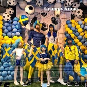 スウェーデンでワールドカップ、サッカー観戦!