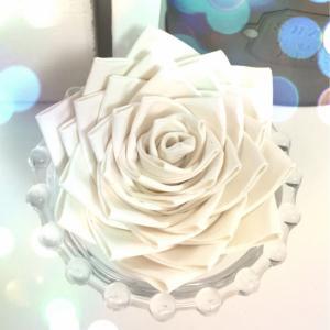 ガムテープの薔薇♪~作り方~