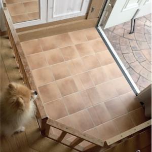 犬用の柵をペイントしました♪