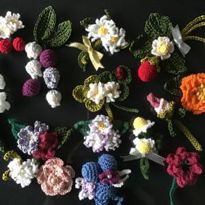 お花のコサージュ追加❣️