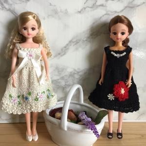 リカちゃんお洋服〜お花で華やかに❣️
