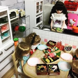リカちゃんのキッチン…アイランドキッチンへ❣️