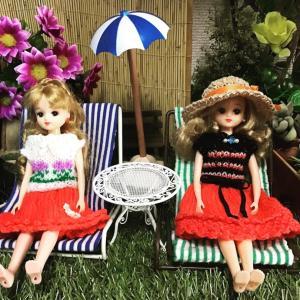 リカちゃん&サマーベッド