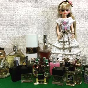 リカちゃんロングドレスと沢山の香水❣️