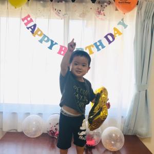 息子が2歳になりました!!!!