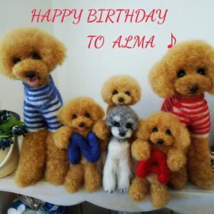 Happy Birthday To Alma ♪