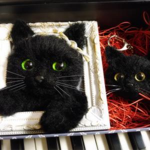 黒猫じゃんさんのおヒゲ♡