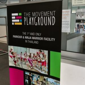 【バンコク・スポット】バンコクでパルクール体験「The Movement Playground(ザ・ムーブメント・プレイグラウンド)」