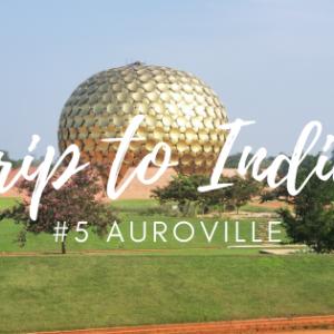 Auroville(オーロヴィル)滞在記 前編
