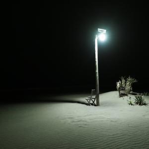 フォトジェニックな外灯(千葉県九十九里浜車中泊Ⅵ その4)