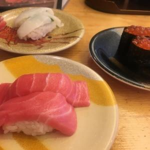 昼食はきときと寿司 in 長野(立山登山車中泊旅行 その5)