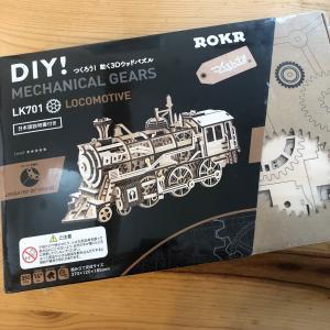 模型作り、3作目、蒸気機関車