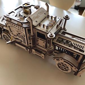 木製模型、トレーラー&タンクローリー