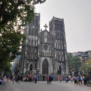 ベトナムハノイ、大聖堂