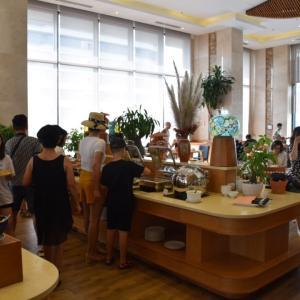 ベトナム、ダナン国内旅行、ホテル朝食バイキング