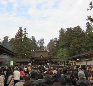 初詣に多賀大社へ行ってきました