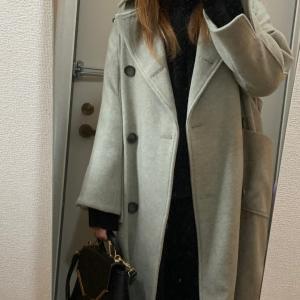 大好きなコートの季節。