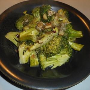 牡蠣とブロッコリー