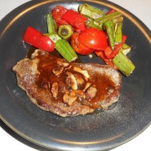 ウルグアイ産のステーキ