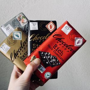 iHerbでおすすめのチョコレート。Chocolove4種を食べ比べ