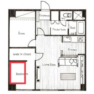 <我が家のリノベーション事例>夫婦の寝室は何帖が理想?室内窓で仕切る寝と食