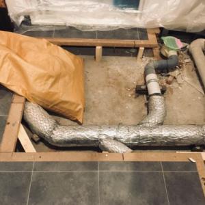 専有部分の排水管取替え工事とは? 断水生活とクッションフロアの前と後