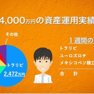【5月4週目】あっきんの資産運用実績をブログで公開!投資をすると4000万円はどれだけ増える?