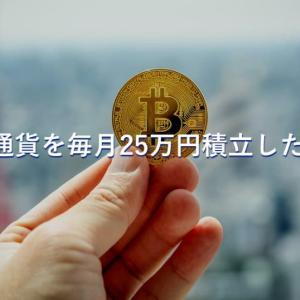 【21ヶ月目】仮想通貨に積立で毎月25万円ずつ分散投資!3年間の運用実績をブログで完全公開!