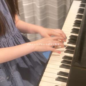 八幡西区ピアノ教室・小学生も指先のおしゃれ