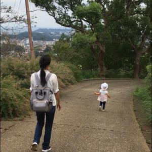 衣笠山公園でハイキング