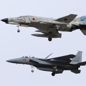 2021年2月12日 岐阜基地 ファントムⅡ301号機