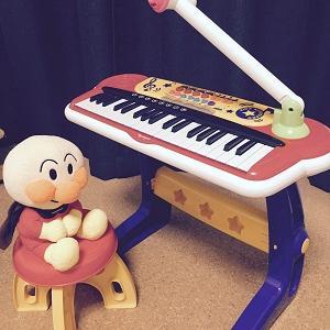 アンパンマン大好き★誕生日プレゼントとキッズキーボードDXと、おもちゃ楽器は鉄板です