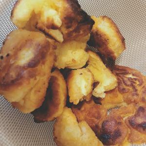 朝からドーナツ作ってみたけれど、、