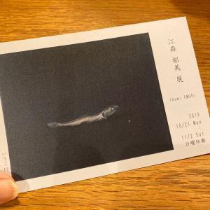 広島の画家 江森郁美さんの個展へいってきました