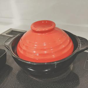 ラジエントヒーターで土鍋