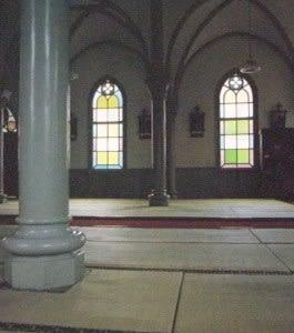 祈りの家。主イエス・キリストの御名によって。アーメン。(新約聖書)