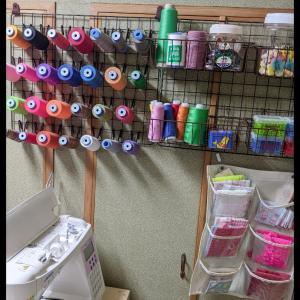 糸整理と在庫整理開始!