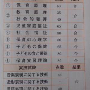 保育士実技試験、合格しましたー!