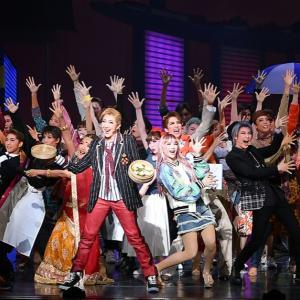 ライビュ。紅ゆずるさん、綺咲愛里さんの宝塚歌劇団卒業。