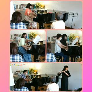 【ピアノサークル】7月開催の様子&8月のご案内♪