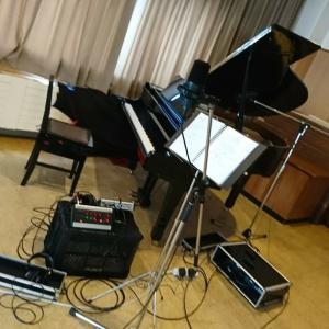 .レコーディング!!!~佐脇由佳さんCDのピアノ伴奏