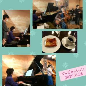 昨夜はジャズワークショップ&セッション♪こちらでは毎回、皆さんとの演奏、交流が楽しい...