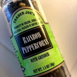 トレジョ:Rainbow Peppercorns と至高のペペロンチーノ