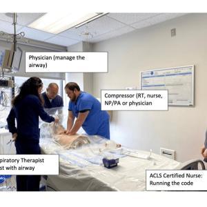 COVID-19 陽性患者さんにCPRをする時